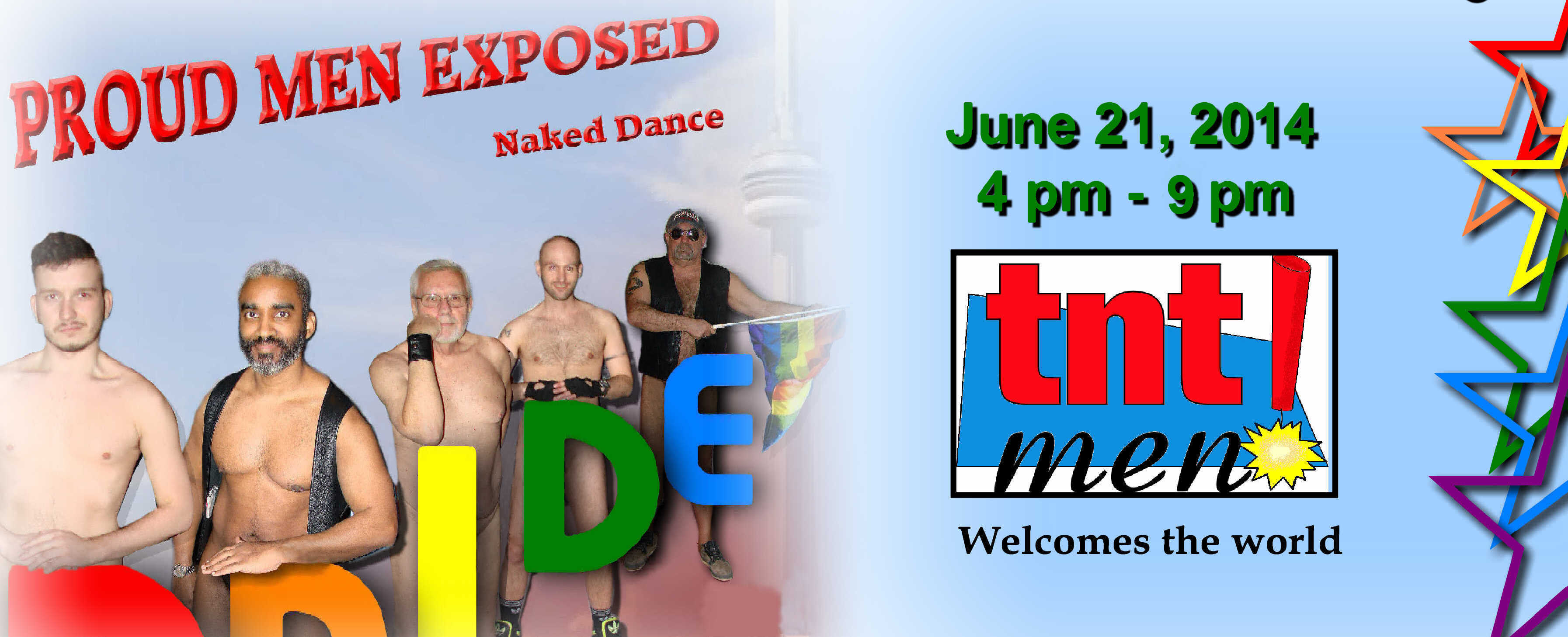 Proud Men Exposed Naked Dance