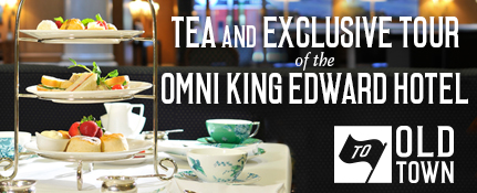 Afternoon Tea and Exclusive Tour of the King Edward Hotel