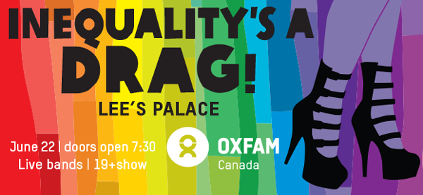 Inequality's a drag - Presented by Oxfam Canada