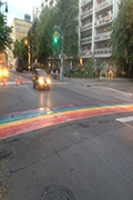 Rainbow Crosswalks Hit Toronto Streets for WorldPride 2014